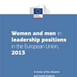 Women and men in leadership positions in the European Union 2013