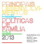 Principais Desenvolvimentos Das Políticas De Família Em 2013
