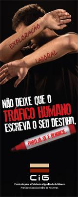 Não deixe que o Tráfico Humano escreva o seu destino