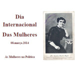 """Exposição """"Ecos da Imprensa"""", de Carolina Beatriz Ângelo, comemorativa do Dia Internacional das Mulheres, 08 de março de 2014, a decorrer na sede da Junta de Freguesia de Alvalade."""