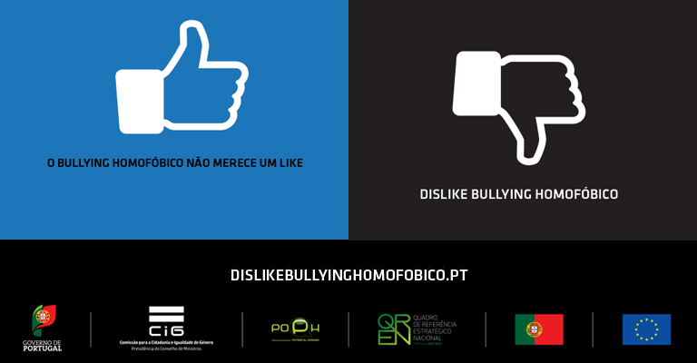 Dislike Bullying Homofóbico