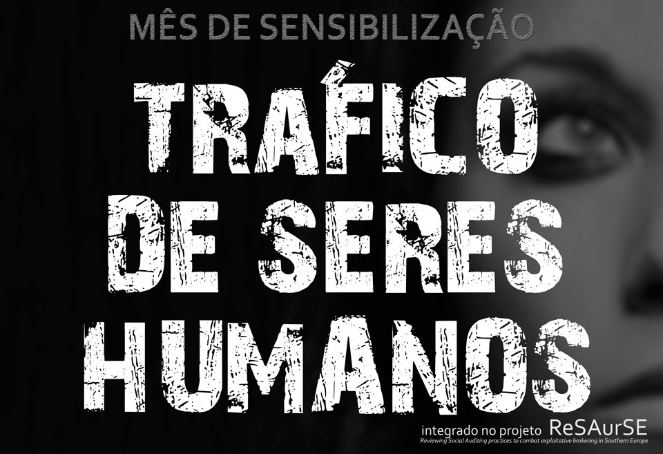 Mês de Sensibilização para o Tráfico de Seres Humanos, na Faculdade de Psicologia da Universidade de Coimbra (26 e 29 de maio)