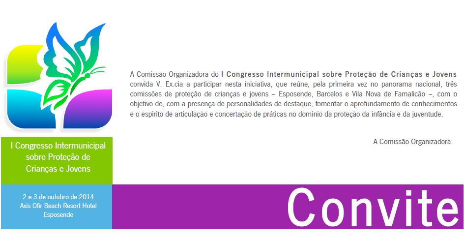 I Congresso Intermunicipal sobre Proteção de Crianças e Jovens