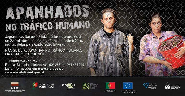 """Campanha """"Apanhados no Tráfico Humano"""""""