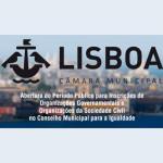 Abertura do Período Público para Inscrições de Organizações Governamentais e Organizações da Sociedade Civil no Conselho Municipal para a Igualdade (Lisboa)