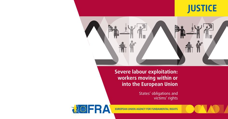 Novo Relatório da FRA sobre «Exploração Laboral Severa na UE»