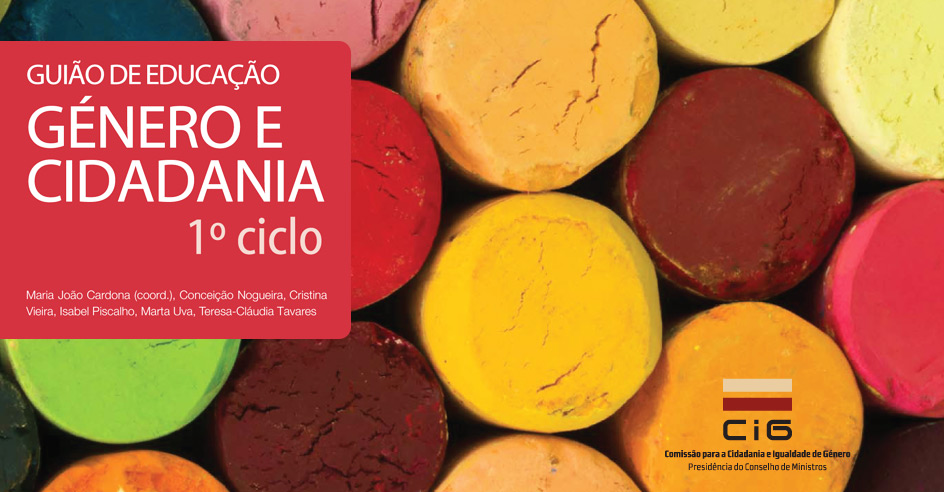 Reedição dos Guiões de Educação Género e Cidadania