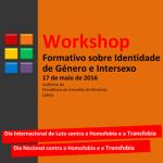 CONVITE: Workshop Formativo «Identidade de Género e Intersexo» (17 maio, Lisboa)