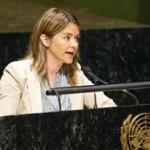 Catarina Albuquerque ganha Prémio Água Global 2016