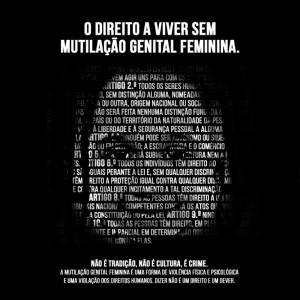Campanha «Direito a Viver sem Mutilação Genital Feminina»