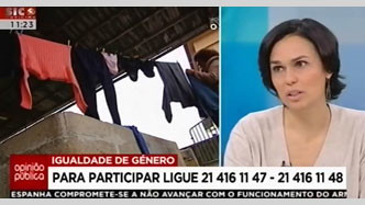"""Teresa Fragoso participou no """"Opinião Pública"""" (21 fev., SIC Notícias)"""
