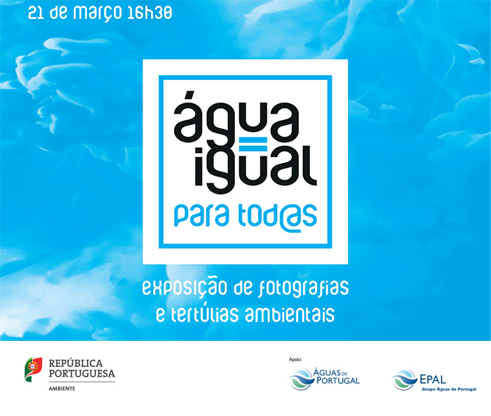 """Água Igual para Tod@as"" (21 mar., Lisboa)"