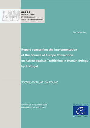 "Conselho da Europa: ""Report Concerning the Implementation of the Council of Europe Convention on Action against Trafficking in Human Beings by Portugal"""