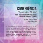 "Conferência ""Femicídio e Media"" (18 abr., Porto)"