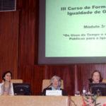 3.º módulo do III Curso de Formação em Igualdade de Género