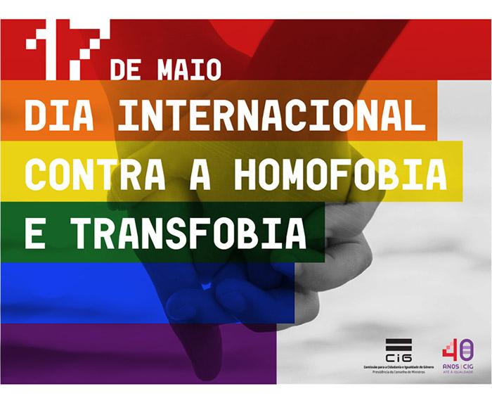Dia internacional Contra a Homofobia e Transfobia (17 de maio)