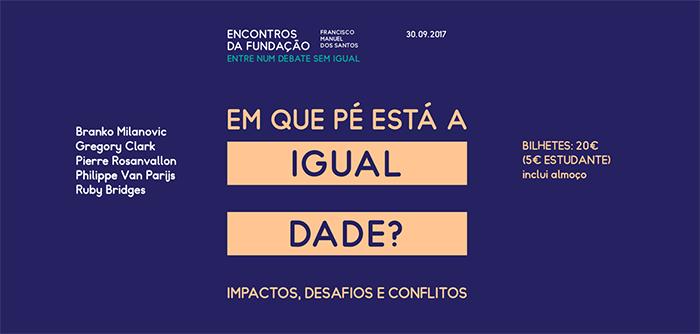 """""""Em que pé está a igualdade? Impactos, desafios e conflitos"""" (30 set., Lisboa)"""