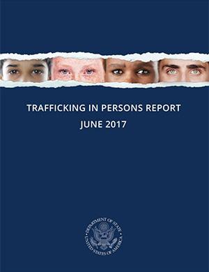 Relatório sobre o tráfico de seres humanos 2017