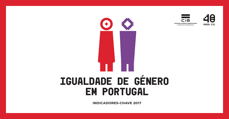 Igualdade de Género em Portugal – Indicadores-chave 2017