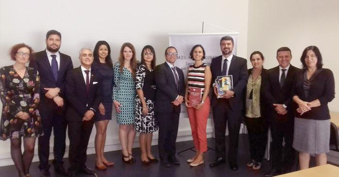 Visita da Delegação do Conselho Nacional do Ministério Público do Brasil