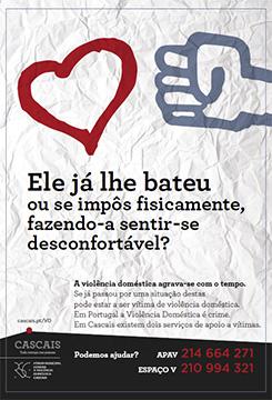 Campanha de sensibilização contra a Violência Doméstica
