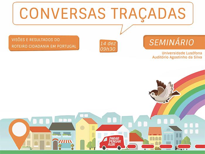 """Seminário """"Conversas traçadas"""" (14 dez., Lisboa)"""
