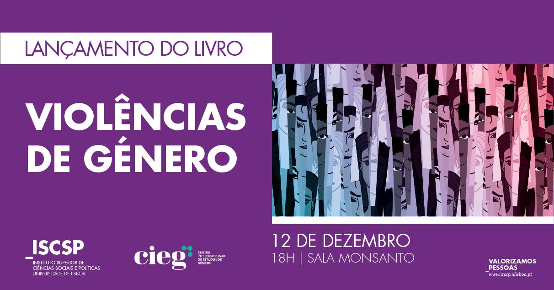 """Apresentação do livro """"Violências de género"""" (12 dez., Lisboa)"""