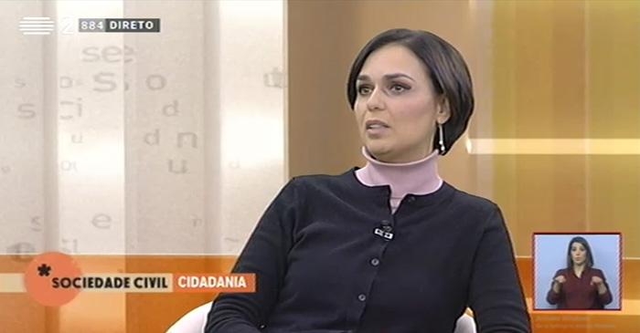 "Presidente da CIG, participa no programa ""Sociedade Civil"""