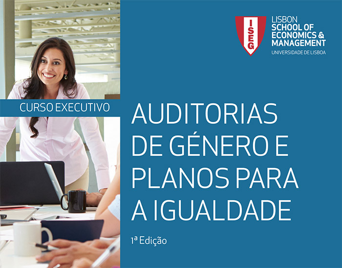 """ISEG promove curso breve sobre """"Auditorias de Género e Planos Para a Igualdade nas organizações e organizações"""""""