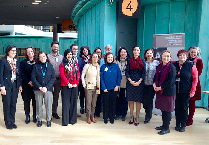 Diálogo entre o GREVIO - Group of Experts on Action against Violence against Women and Domestic Violence e representantes de Portugal