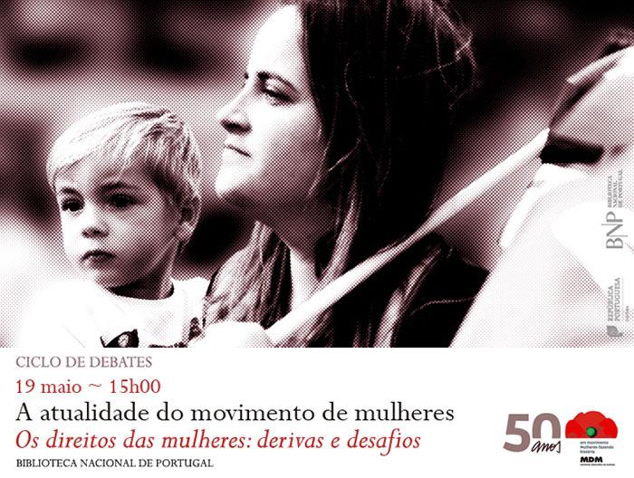 Debate «A Actualidade do Movimento de Mulheres (19 de maio, Lisboa)