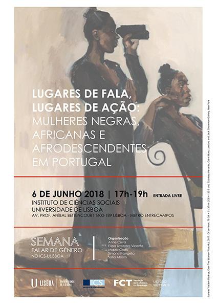 Conversa «Mulheres Negras, Africanas e Afrodescendentes em Portugal» dia 6 de Junho