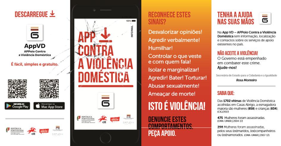 Apoio às vítimas de Violência Doméstica à distância de um clique