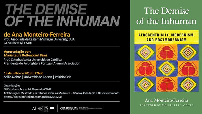 Lançamento de livro da Profª Ana Monteiro-Ferreira – 13 julho
