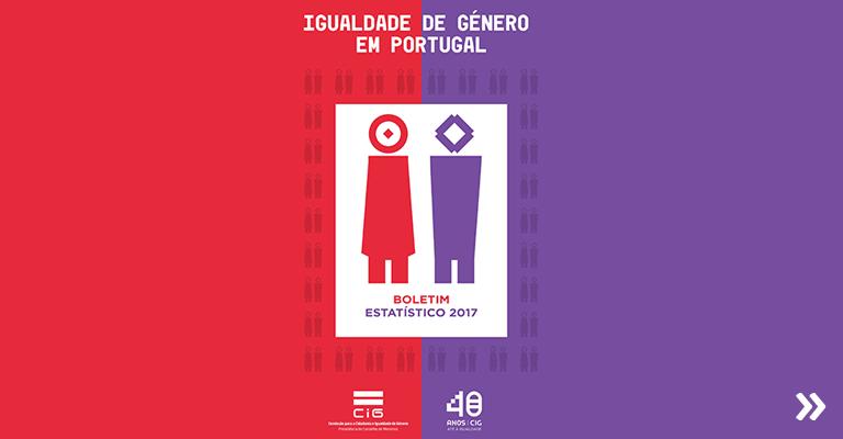 Igualdade de Género em Portugal – Boletim Estatístico 2017