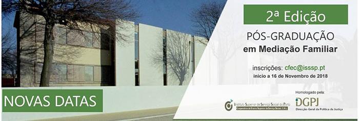 Pós-graduação em Mediação Familiar, no Porto – inscrições abertas
