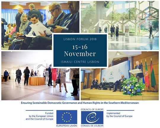 Fórum Lisboa 2018 do Centro Norte-Sul do Conselho da Europa – 15 e 16 novembro, Lisboa