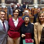 Cerimónia de entrega do Prémio Direitos Humanos 2018 – Assembleia da República