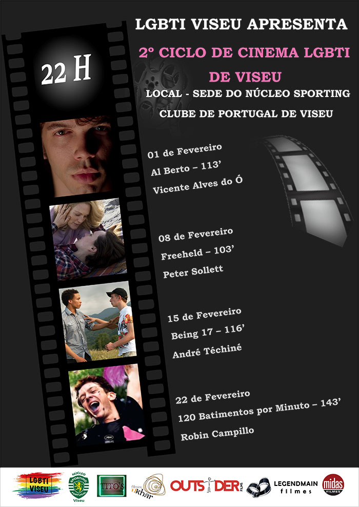 2º Ciclo de Cinema LGBTI de Viseu