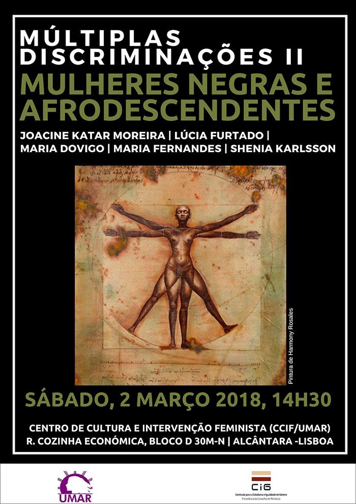 Tertúlia UMAR «Mulheres Negras e Afrodescendentes» - Lisboa, 2 de março