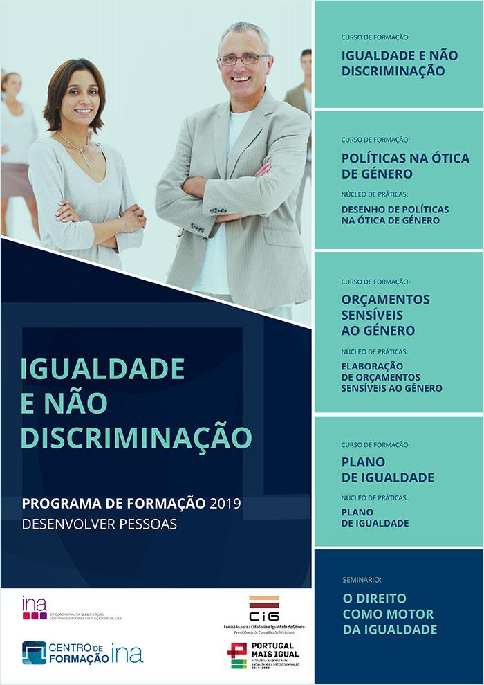 Apresentação do Programa de Capacitação em Igualdade e Não Discriminação – Protocolo de colaboração entre a CIG e o INA