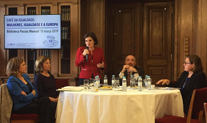 Café da Igualdade: Mulheres, Igualdade e a Europa