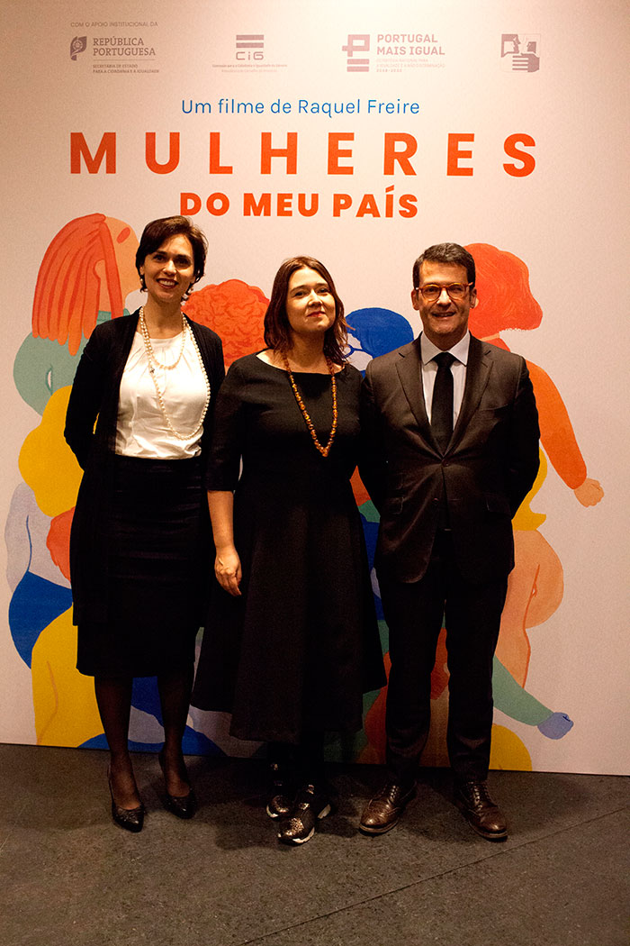 Ante-estreia de «Mulheres do Meu País» de Raquel Freire