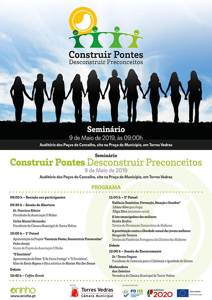 """Seminário """"Construir Pontes, Desconstruir Preconceitos?"""", em Torres Vedras"""