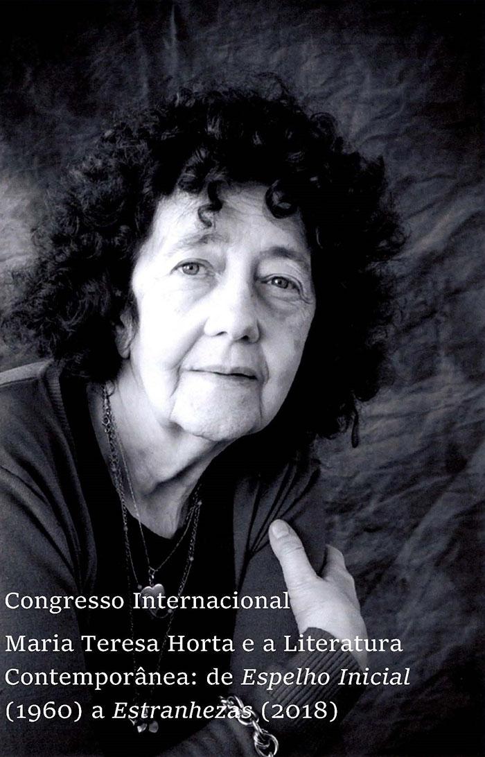Congresso Internacional Maria Teresa Horta, 8 a 10 maio, Lisboa