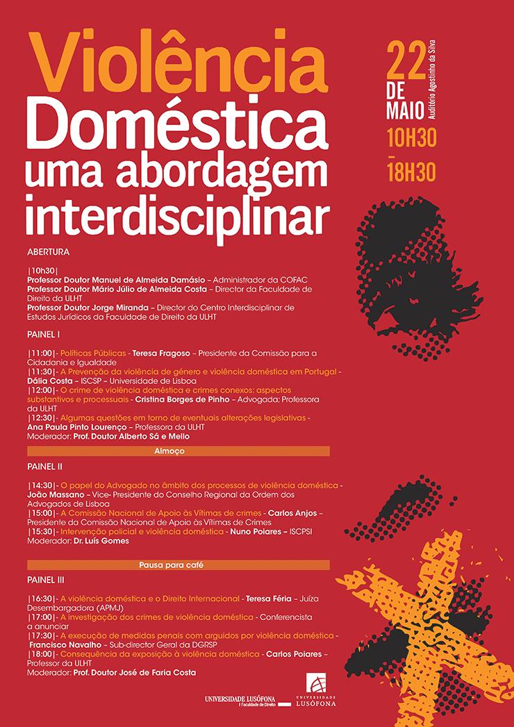 «Violência Doméstica – uma abordagem interdisciplinar» na Universidade Lusófona