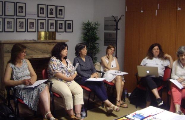 Reunião da Rede Coeducação: projeto Guiões de Educação Género e Cidadania