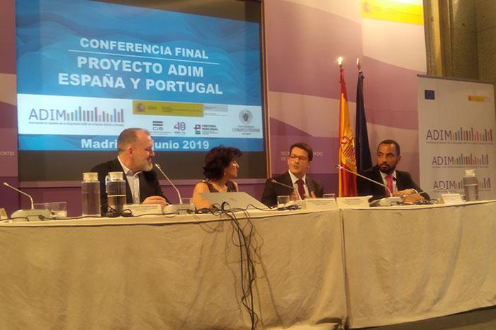 Carlos Duarte, Vice Presidente da CIG, na sessão de abertura da Conferência Final