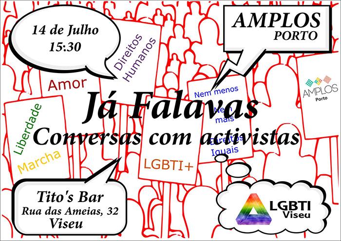 Conversa «Os desafios na parentalidade de pessoas LGBTI+» - Viseu, 14 julho