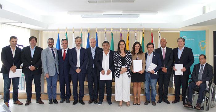 Assinatura de protocolos com CIM do Tâmega e Sousa